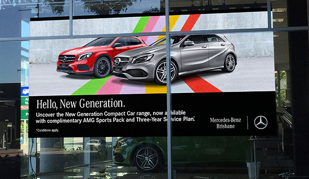 Mercedes Brisbane CR3.9 Outdoor